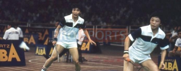 Badminton-Xu Rong & Wu Jianqui